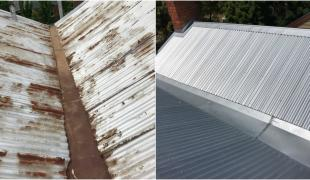 Castlemaine re reroof zinc
