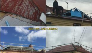 Ballarat re-roof colorbond